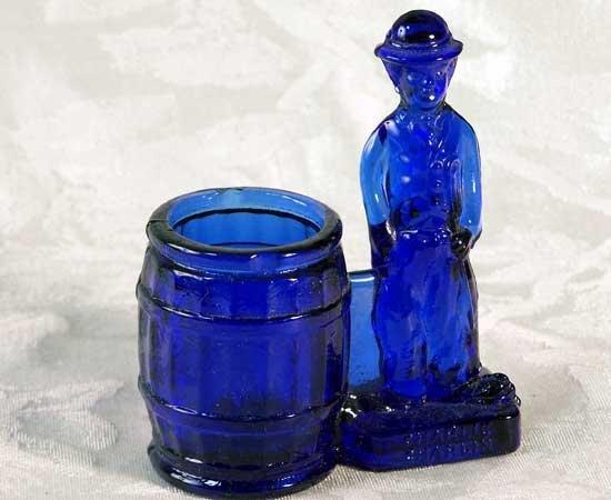 Chaplin Toothpick Holder Blue - 16249
