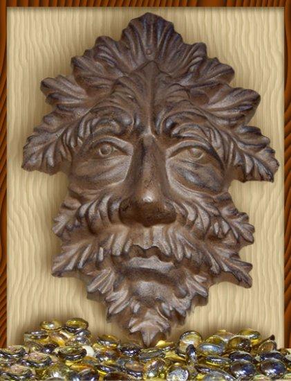 Gargoyle Leaf Man Gothic Wall Plaque - 05631