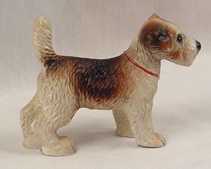 Cast Iron Terrier Dog Figurine - 04644