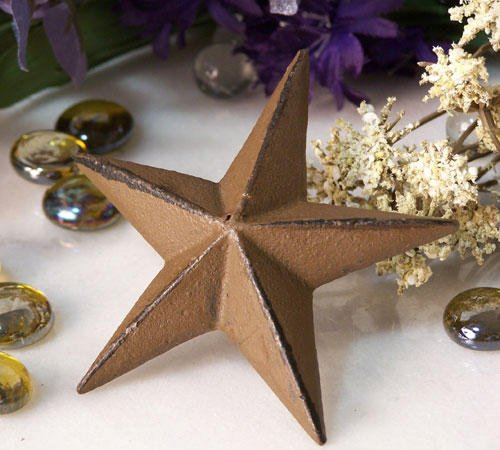 Cast Iron Nail Star Large - Lot of 12 - 02110