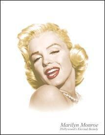 Tin Sign - Marilyn Monroe - Eternal Beauty - 1214