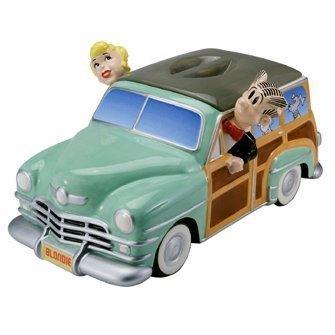 Cookie Jar Blondie & Dagwood Station Wagon Limited Edition - 27141