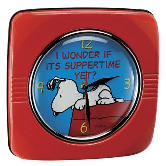 Snoopy Peanuts Vintage Style Wall Clock - 85089