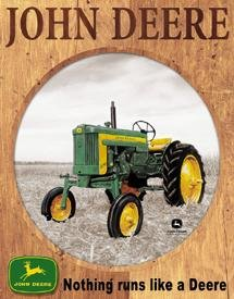 TIN SIGN John Deere - 320 Farm Tractor Country - 919
