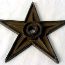 4 inch Cast Iron Star - Center Hole Medium Lot of 6 - 02107 - 320