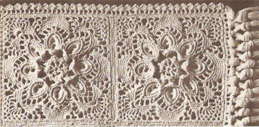 Bedspread Cotton Thread Crochet Patterns