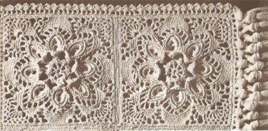 """Bedspread Square (4"""") - Free Crochet Pattern:"""