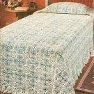 Snow White Bedspread Crochet Pattern C 1025
