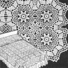 Star Bedspread Crochet Pattern from 1950 C 1016