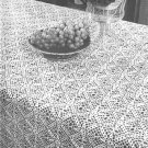 Cluster Luster Tablecloth Crochet Pattern C 1030