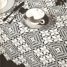 Medley Tablecloth Crochet Pattern C 1035