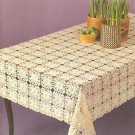 Pineapple Motif Tablecloth Crochet Pattern C 1039