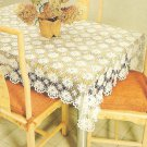 Queen Anne's Lace Tablecloth Pattern C 1043
