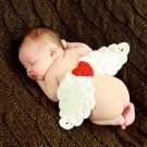 free shipping wing angel baby photo prop baby clothes knitted baby photo prop