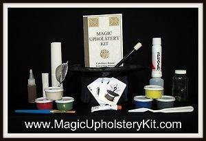 *Magic Fabric Repair Kit : Repair  Cloth, Velour, Fabric, Carpet and More!