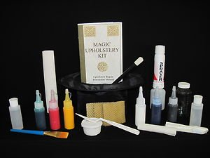 *Magic Vinyl/Leather Repair Kit  (No Heat Gun): Repair Leather Upholstery!