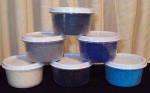 Magic Fibers (Blue Spectrum) Set Of 6