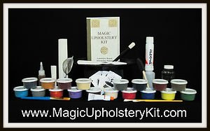Magic Fabric Repair Mega Kit : Fix all your Home-Office-Auto-Boat Fabrics Easy!