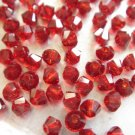 72X 4mm Swarovski 5328 Xilion Crystal Beads Siam