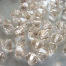 72X 4mm Swarovski 5328 Xilion Crystal Beads Silk