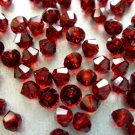 24X 5mm Swarovski 5328 Xilion Crystal Beads Siam