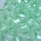 24X 6mm Swarovski 5328 Xilion Crystal Beads Chrysolite