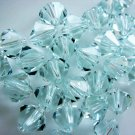 24X 6mm Swarovski 5328 Xilion Crystal Beads Light Azore