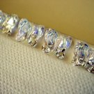6X 6mm 5754 Butterfly Swarovski Crystal AB