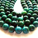 "14"" Chrysocolla 8mm Faceted Round Beads GB007"