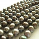 "15"" 5-6mm Round Grey Mauve Freshwater Pearl FP004"