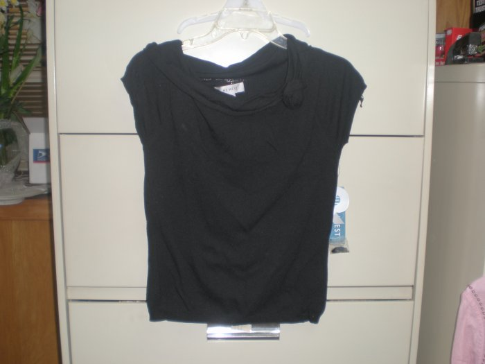 Nine West Black Shirt  sz M