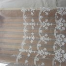 5yards embroidery Lace trim-white ribbon for sewing-LSENS025