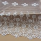 5yards embroidery Lace trim-white ribbon for sewing-LSENS042