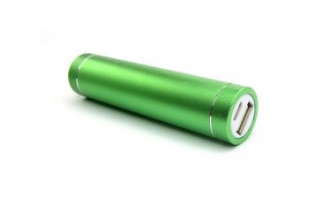 Dark Green Portable USB Cell Phone Charger Power Bank iPhone Samsung PSP HTC