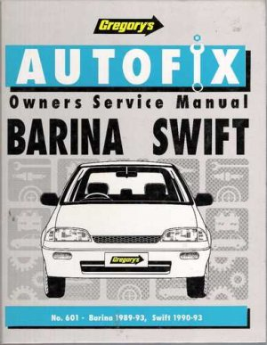 Barina Swift Owners Service Manual - Hardcover