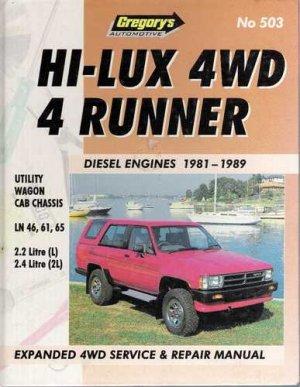 Hi-Lux 4WD 4 Runner Manual - Hardcover