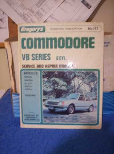 VB Series 6cyl Commodore Manual Gregorys good used