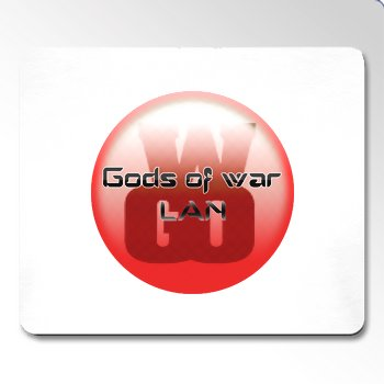 Gods Of War LAN Mousemat