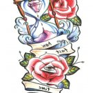 Rose Sexy Waterproof Removable Temporary Tattoo Body Arm Art Sticker