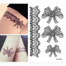 Beautiful Lace Waterproof Removable Temporary Tattoo Body Arm Art Sticker2