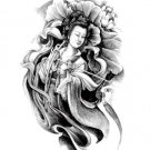 Dun Huang Woman Waterproof Removable Temporary Tattoo Body Arm Art Sticker