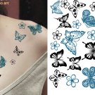 BUTTERFLY Sexy Waterproof Removable Temporary Tattoo Body Arm Art Sticker
