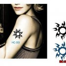 Star2 Sexy Waterproof Removable Temporary Tattoo Body Arm Art Sticker