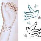 Swallow Waterproof Removable Temporary Tattoo Body Arm Art Sticker
