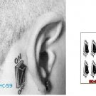 TURN ON OFF BUTTON Waterproof Removable Temporary Tattoo Body Arm Art Sticker