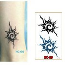 SPLASH Waterproof Removable Temporary Tattoo Body Arm Art Sticker