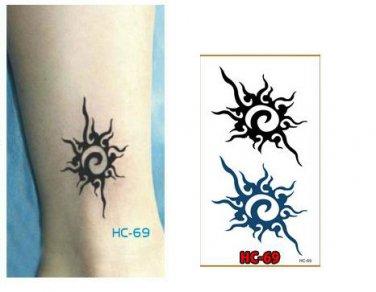 SPLASH Waterproof Removable Temporary Tattoo Body Arm Art Sticker