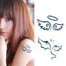 Angel Devil Wings Temporary Tattoo Body Arm Art Sticker