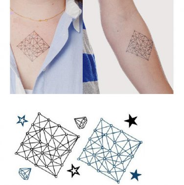 Matrix Sexy Temporary Tattoo Body Arm Art Sticker