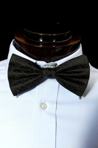 Black Freemason MasonicBow Tie